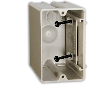 ALLIED MOULDED SB-1 New and Old Work Adjustable Single Gang Electrical Box