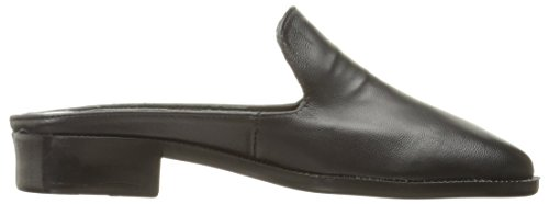 Nyla Womens Jazz Mule In Pelle Nera
