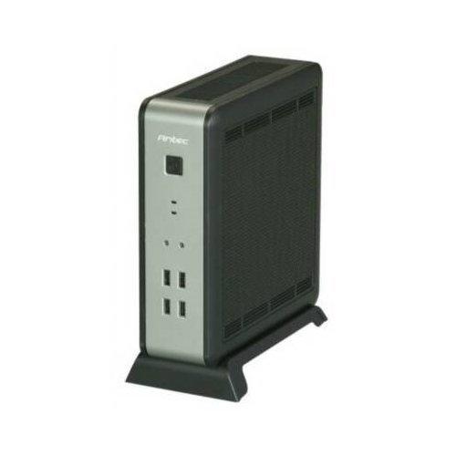 Antec Case ISK 110 VESA Black / Silver Mini-ITX Desktop with 90W (2x2.5) Bays USB Audio Case