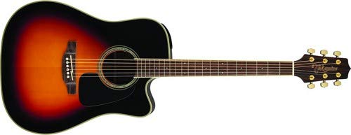 Takamine 6 String Acoustic-Electric Guitar, Right Handed, Sunburst (GD51CE-BSB)
