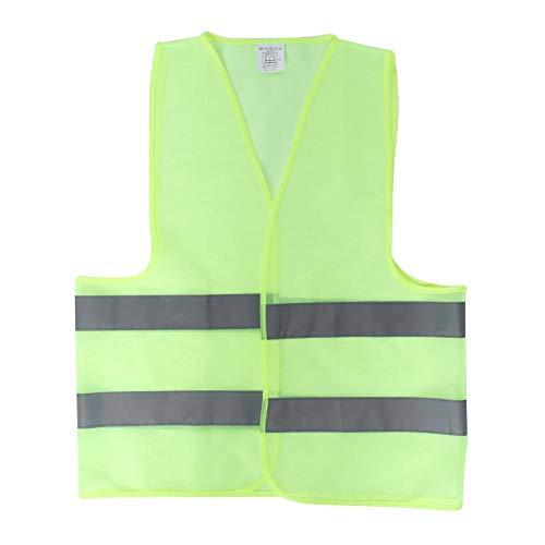 (Suuonee Reflective Waistcoat, Reflective Material Traffic Safety Reflective Overcoat Jacket Waistcoat for Night Working Constructing)