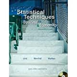 Statistical Techniques in Business & Economics, , 0077270061