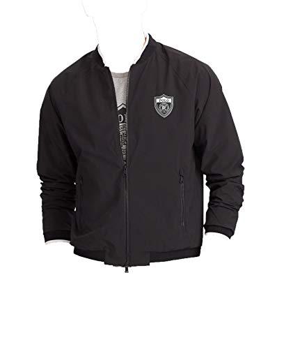 Polo Ralph Lauren Men Full Zip Windbreaker Bomber Jacket Black XL