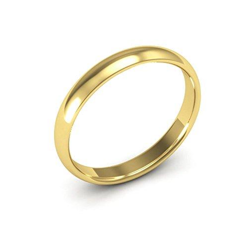 14k gold wedding band for men