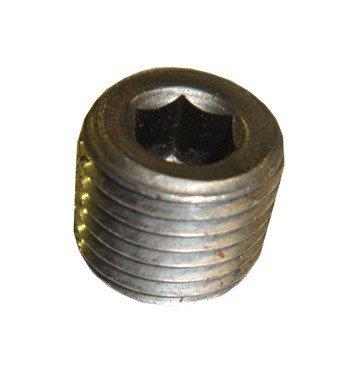 Western SnowEx Part # 92095 - Drain Plug 1/4 in. Hex Socket Head