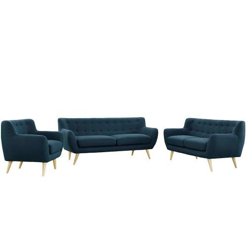 Modway EEI-1782-WHE-SET Remark 3 Piece Living Room Set in
