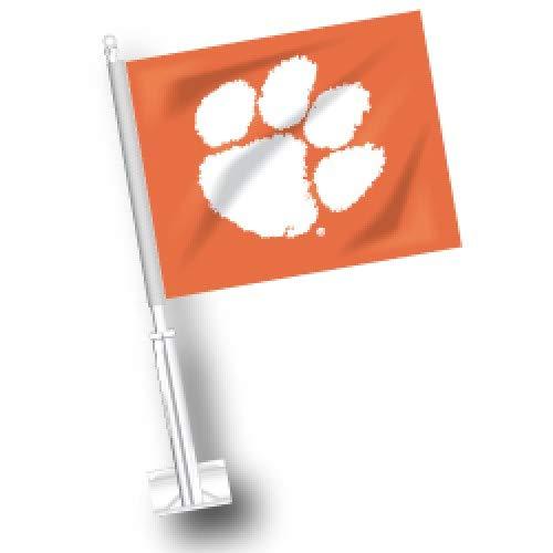 (NCAA Clemson Tigers Car Flag Set of 2)