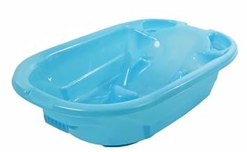 Amazon.com : Dream On Me 2 Position Baby Bather Bath Tub, Blue ...