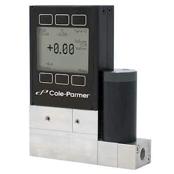 Mass Flow Controller - Cole-Parmer Gas Mass Flow Controller, 0.01 to 1 LPM