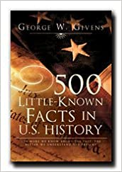 Book 500 Little-Known Facts in U.S. History- Author also of (The Language of the Mormon Pioneers, 500 Little-Known Facts in Mormon History) Also published In Old Nauvoo, Out of Palmyra, The Nauvoo Fact
