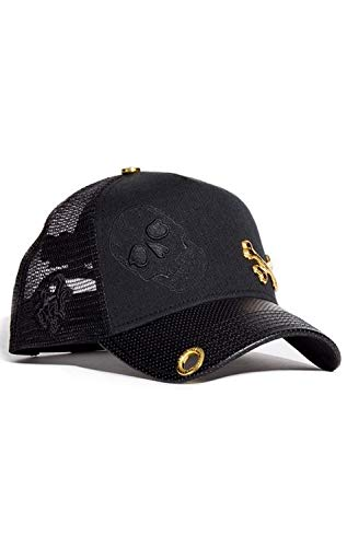 Red Monkey Cross Bone New Black Unisex Fashion Trucker Cap Hat