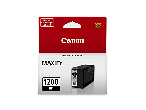 CanonInk MAXIFY PGI-1200 Black Pigment Ink Tank by Canon