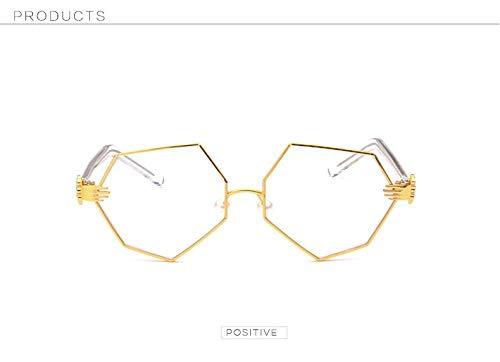 Clear Merriz Gold Silver Clear Soleil Lunettes de Yellow Homme 8w78p6