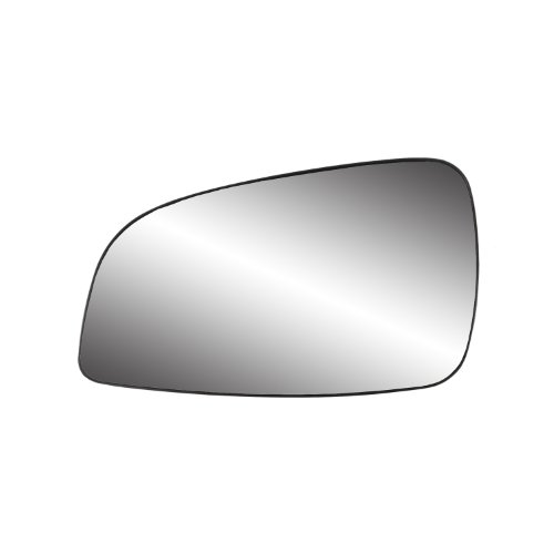 (Fit System 88229 Chevrolet/Saturn Left Side Power Replacement Mirror Glass with Backing Plate)