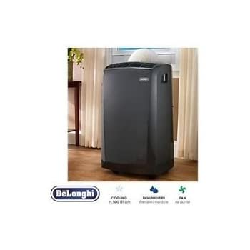 delonghi pacan125hpec portable air conditioner manual