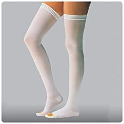 Jobst AntiEM/GP Thigh High Seamless Anti-Embolism Elastic Stockings, 1 Pair(Size=111459 - Large Regu