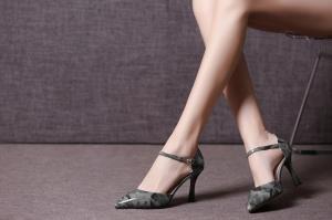 hexiajia - Zapatos Planos con Cordones mujer gris