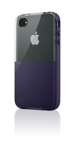 Belkin Shield Eclipse Case (geeignet für iPhone 4) purple