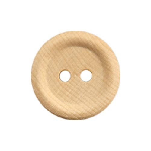 Pack of 10 Pinehurst Crafts Unfinished Wooden Buttons for Crafts 3//4-Inch