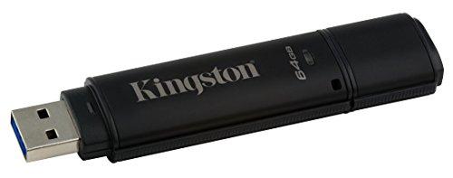 Kingston Digital 64GB USB 3.0 DT4000 G2 256 AES FIPS 140-2 Level 3 Encrypted (DT4000G2DM/64GB) by Kingston