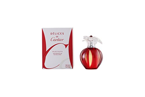 - Delices de Cartier by Cartier for Women - 1.6 Ounce EDT Spray