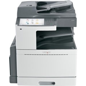 Lexmark X950DE LED Multifunction Printer - Color - Plain Paper Print - Desktop - Copier/Fax/Printer/Scanner - 45 ppm Mono/40 ppm Color Print - 1200 x 1200 dpi Print - 45 cpm Mono/40 cpm Color Copy - Touchscreen - 600 dpi Optical Scan - Automatic Duplex Pr