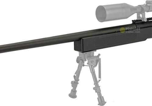 Pack complet Airsoft M62 Sniper Double Eagle/Sniper à Ressort/métal-ABS/Rechargement Manuel (0.5 Joule)-Livré avec… 3