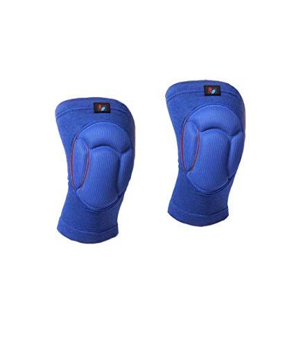 Sportrodo Protective Knee Pads, Thick Sponge Anti-slip, Collision Avoidance Knee Sleeve for Volleyball, Football, Skate, Skateboard, Baseball, Cycling, Climbing, Horserace - Medium