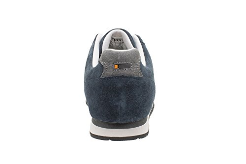 Sneakers Vintage Bleu nubuck shoes TS093 SD en T Sq5IfxwFg