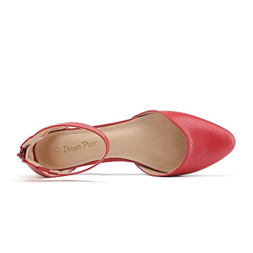 DREAM PAIRS Amiga Women's Low Wedge Flats Shoes