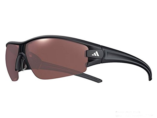 ADIDAS Evil eye halfrim PRO Sunglasses many size (SMALL matte black / polarized active silver mirror, one size)
