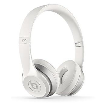 Beats Solo 2 Wireless On-Ear Headphone - White-(Certified Refurbished)