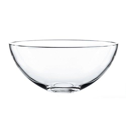 Nachtmann High Quality Bowl Vivendi a la Carte, Crystal Glass, 25 cm, Made in Germany, 81463 -