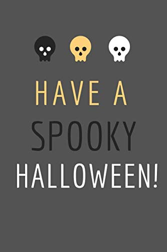 A5 Invite - Have a Spooky Halloween: Small / Medium Lined A5 Notebook (6
