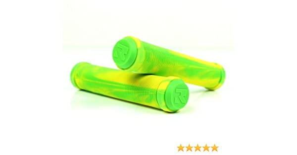 Scooter Grips AIR Mixed Green//Gold Root Industries