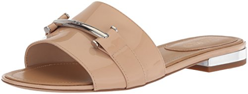 Lauren By Ralph Lauren Womens Davan Slide Sandalo Straw