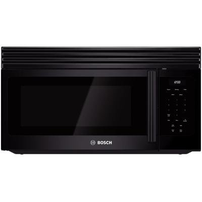 over the range microwave in black - 9