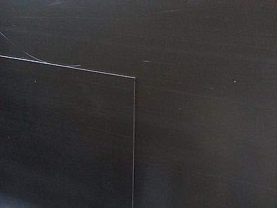 .040 Aluminum Sheet Painted Dark Bronze 5 x 8