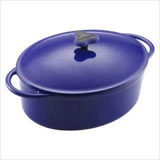 KitchenAid 51751 Enameled Cast Iron Dutch Oven, Blue