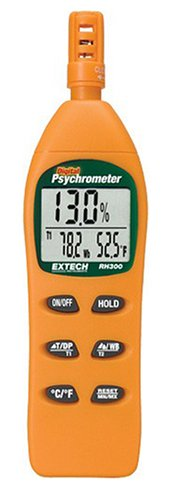 Extech RH300 Humidity Meter with Dew Point by Extech