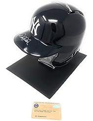 Derek Jeter New York Yankees Signed Autograph Full Size MLB Batting Helmet Steiner Sports Certified