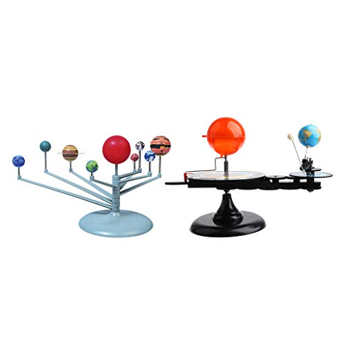 Fityle Solar System Model & Sun Earth Moon Orbital Planetarium Model Science Project Kit Astronomy Learning Study Science Kit