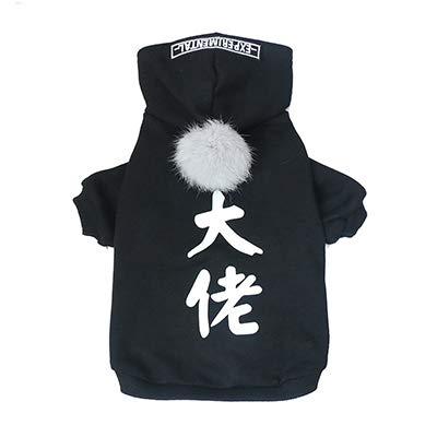 YSDTLX Abbigliamento Per Animali Maglione Con Cappuccio Gatto Genitore-Bambino Autunno E Inverno Indossare Spessi Caldo Piccoli Cani E Gatti