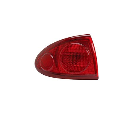 Fits 2003-2005 Chevrolet Cavalier Rear Tail Light Driver Side Unit GM2800160 includes marker lamp - replaces 15142168