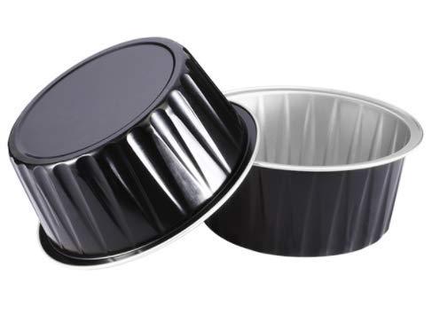 ea8017687c KEISEN 3 2  5 125ml 100  PK 4OZ Disposable Aluminum Foil Cups for Muffin ...