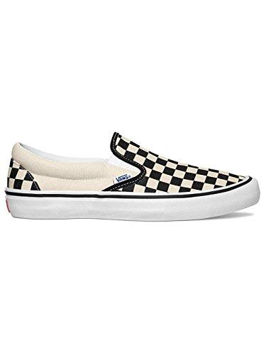 Vans Skate Shoe Men Slip-On Pro Skate Shoes Black/White