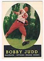 1958 Topps CFL (Football) Card# 87 Bobby Judd of the Ottawa ...
