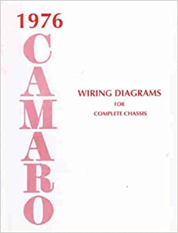 Fabulous 1976 Camaro Complete Set Of Factory Electrical Wiring Diagrams Wiring Digital Resources Aeocykbiperorg