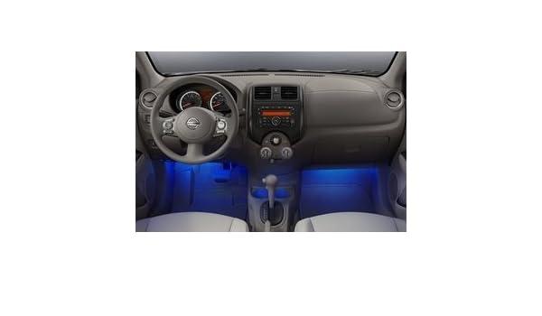 Amazoncom 2013 2015 Nissan Versa Sedan Interior Accent Lighting