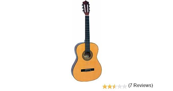 Palma PL12 - Guitarra clásica tamaño 1/2, color natural: Amazon.es ...